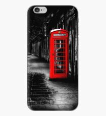 London Calling - Red British Telephone Box iPhone Case