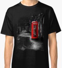 London Calling - Red British Telephone Box Classic T-Shirt