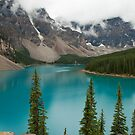 Moraine Lake in Banff National Park, Canada by Roger Bernabo