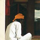 Prayers, Pushkar, India by Laoghaire