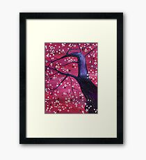 Black Cherry Framed Print
