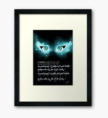 Find your light (Tolkien inspo)  Framed Print