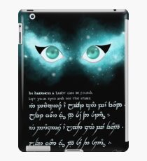 Find your light (Tolkien inspo)  iPad Case/Skin