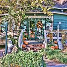 Halloween in Waxahachie, Texas by Susan Russell