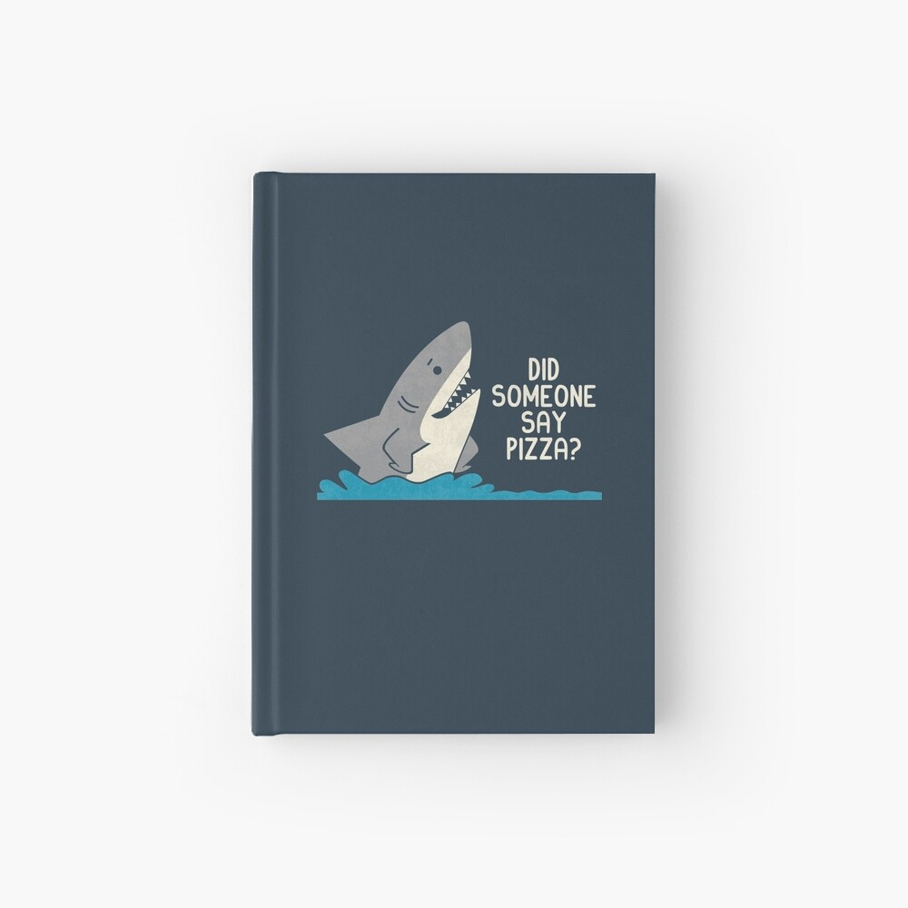 Hungry Shark Hardcover Journal