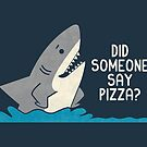 Hungry Shark by Teo Zirinis