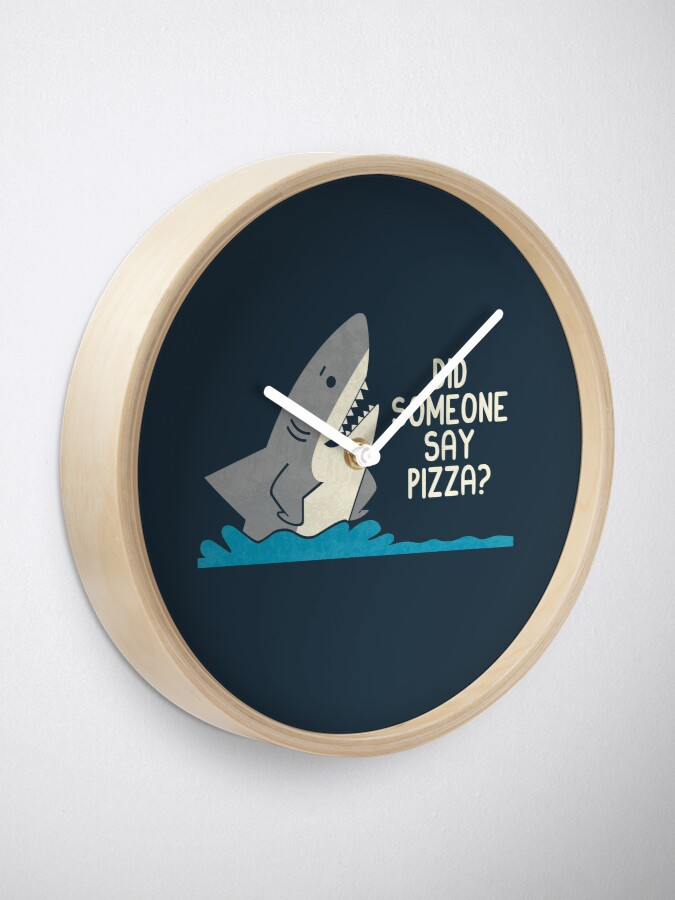 Alternate view of Hungry Shark Clock