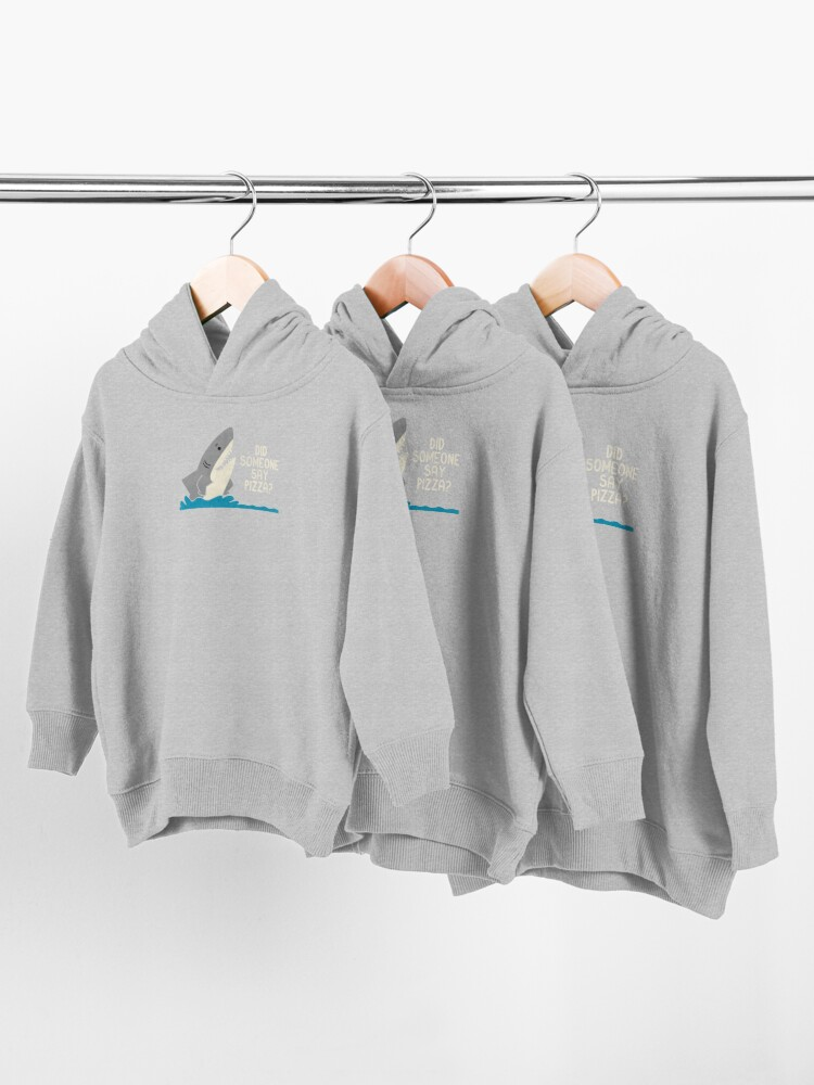 Alternate view of Hungry Shark Toddler Pullover Hoodie