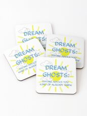 Crazy Ex-Girlfriend Dream Ghost Fan Art Coasters