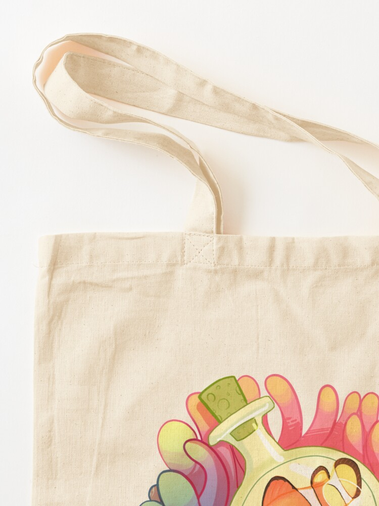 Alternate view of C is for Clownfish Tote Bag
