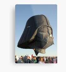 The Force is Moving Metal Print