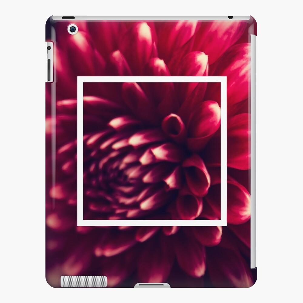 Dahlia Close-up iPad Case & Skin