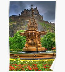 Ross Fountain Poster