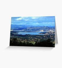 Cachuma Lake Greeting Card