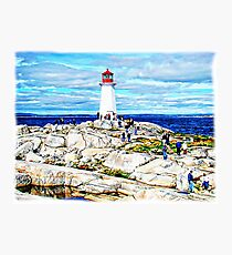A View At Peggy's Cove, NS, Canada VI Photographic Print