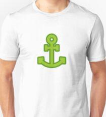 Green Anchor Unisex T-Shirt