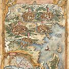 Bridge of Legends Map by sarahklwilson