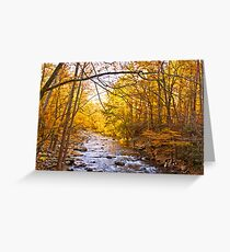 End of Fall! Greeting Card
