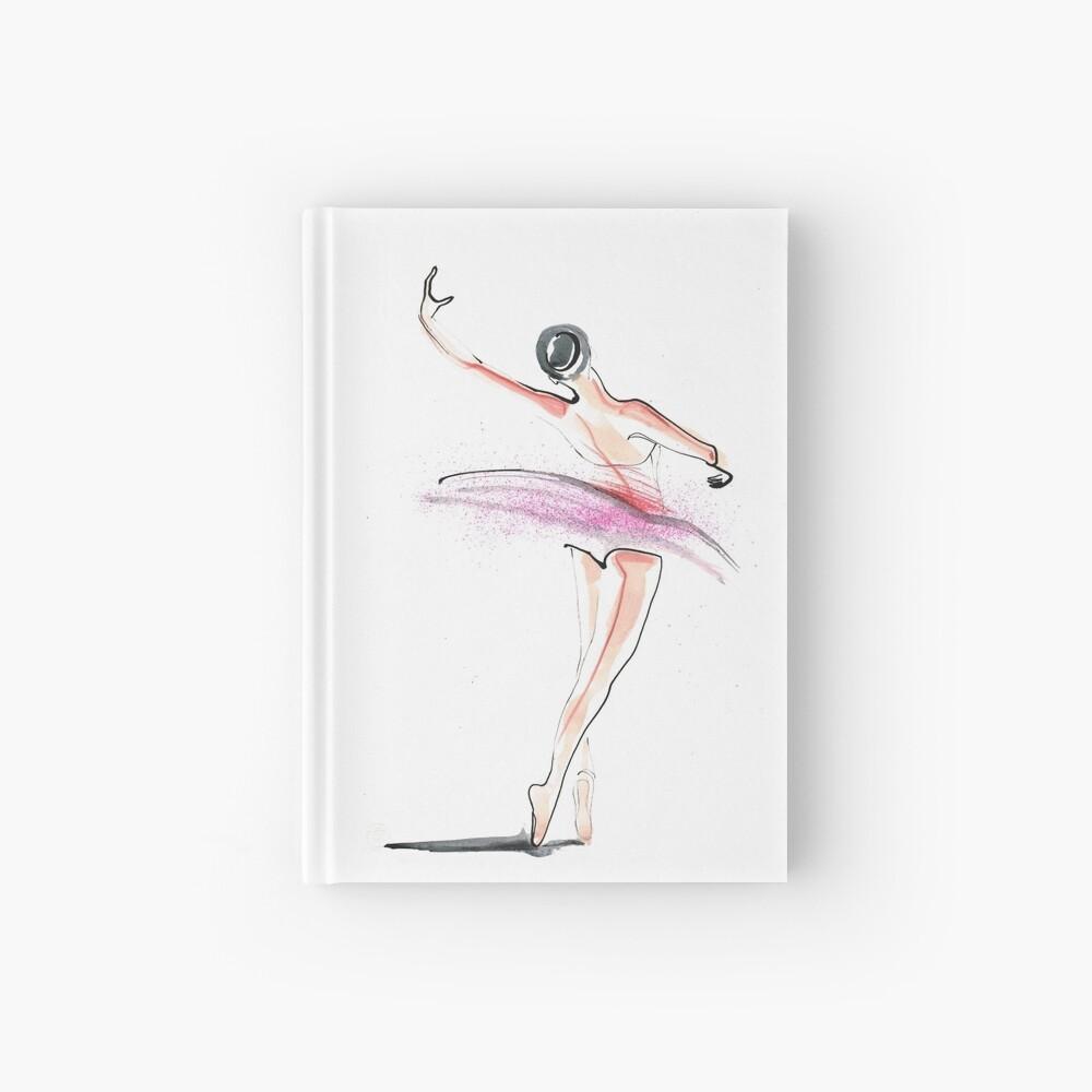 Ballerina Dance Drawing Hardcover Journal