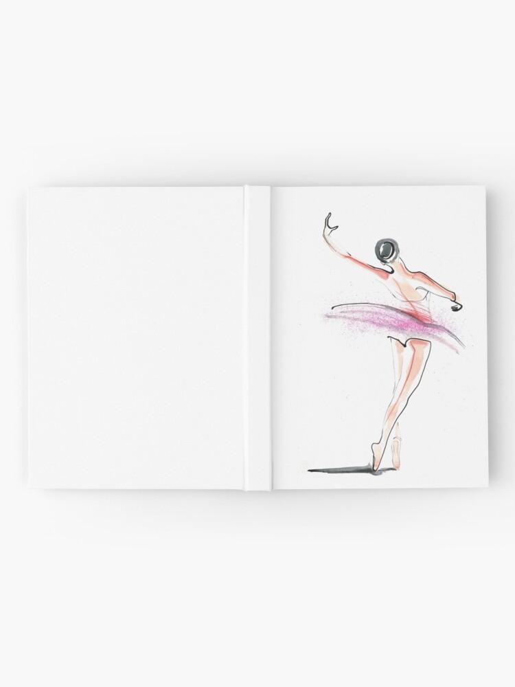 Alternate view of Ballerina Dance Drawing Hardcover Journal