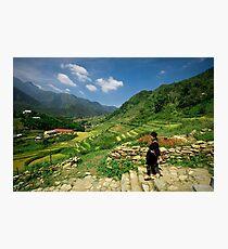 Sapa Countryside Photographic Print