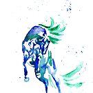 Horse Spirit of Water by RavensLanding