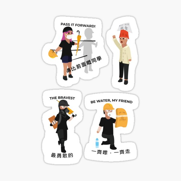 Stickerpack: The Protesters Sticker