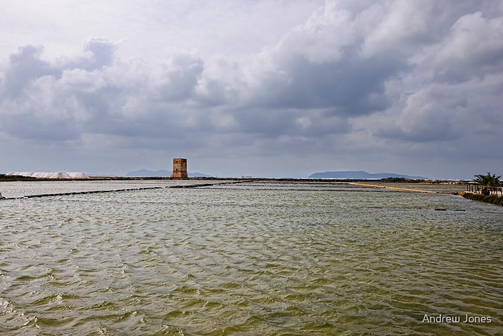 Torre Nubia, Saltine di Trapani, Sicily by Andrew Jones