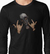 Devil Horns (Colour Version) Long Sleeve T-Shirt