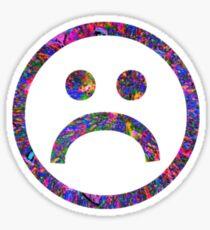 Sad Face #2 b Sticker