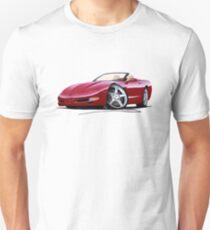 Chevrolet Corvette C5 Convertible Mag Red Unisex T-Shirt