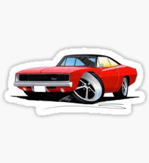 Dodge Charger Red Sticker