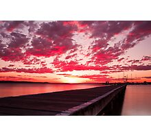 Soldiers Point Sunset Photographic Print