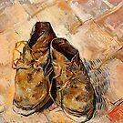 Schuhe (1888) von Vincent Van Gogh. von Igor Drondin