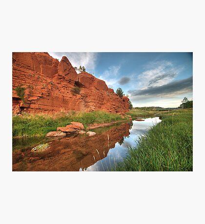 River Belle Fourche Photographic Print