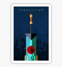 Transistor Sticker