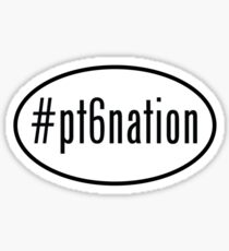 #pt6nation Sticker