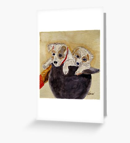 Trump and Tillie Greeting Card
