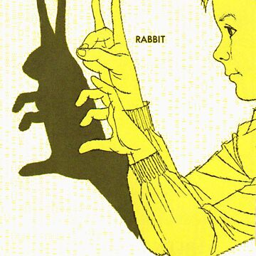 Run Rabbit Run : Boy in a Blackout von GLAMAZON