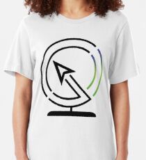 The Lost Geographer Logo (Large) Slim Fit T-Shirt