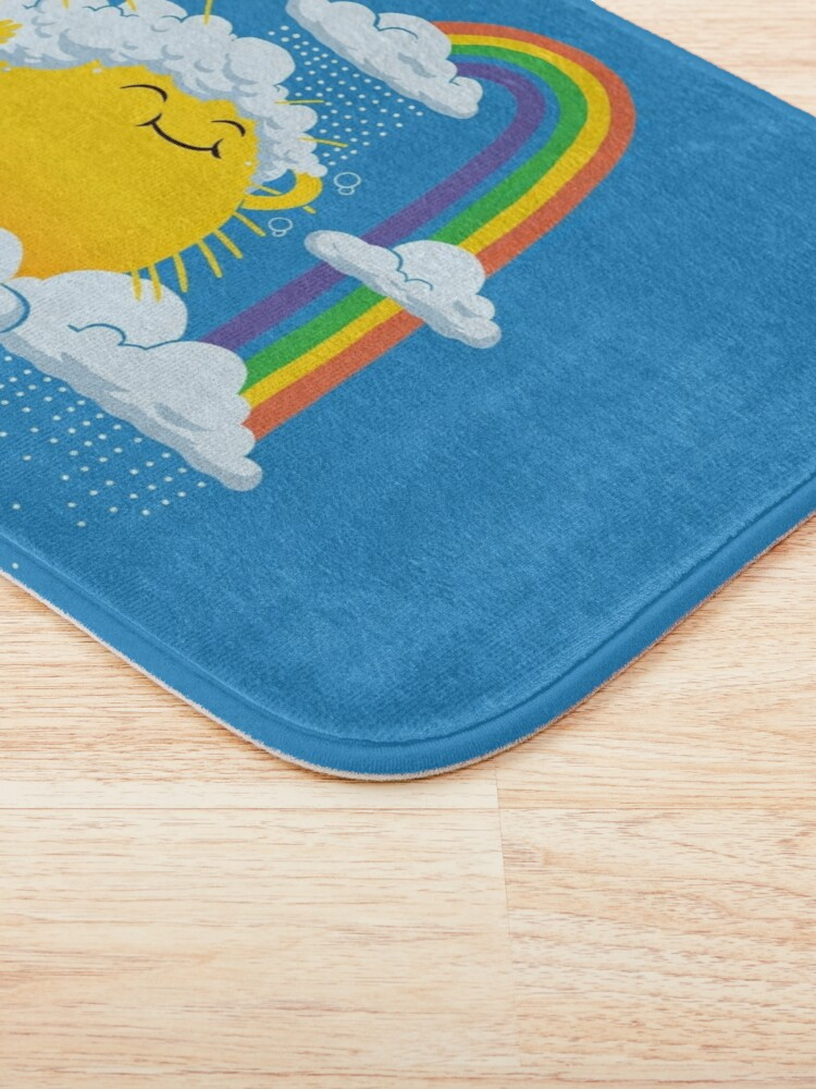 Alternate view of Rainy Day Bath Mat
