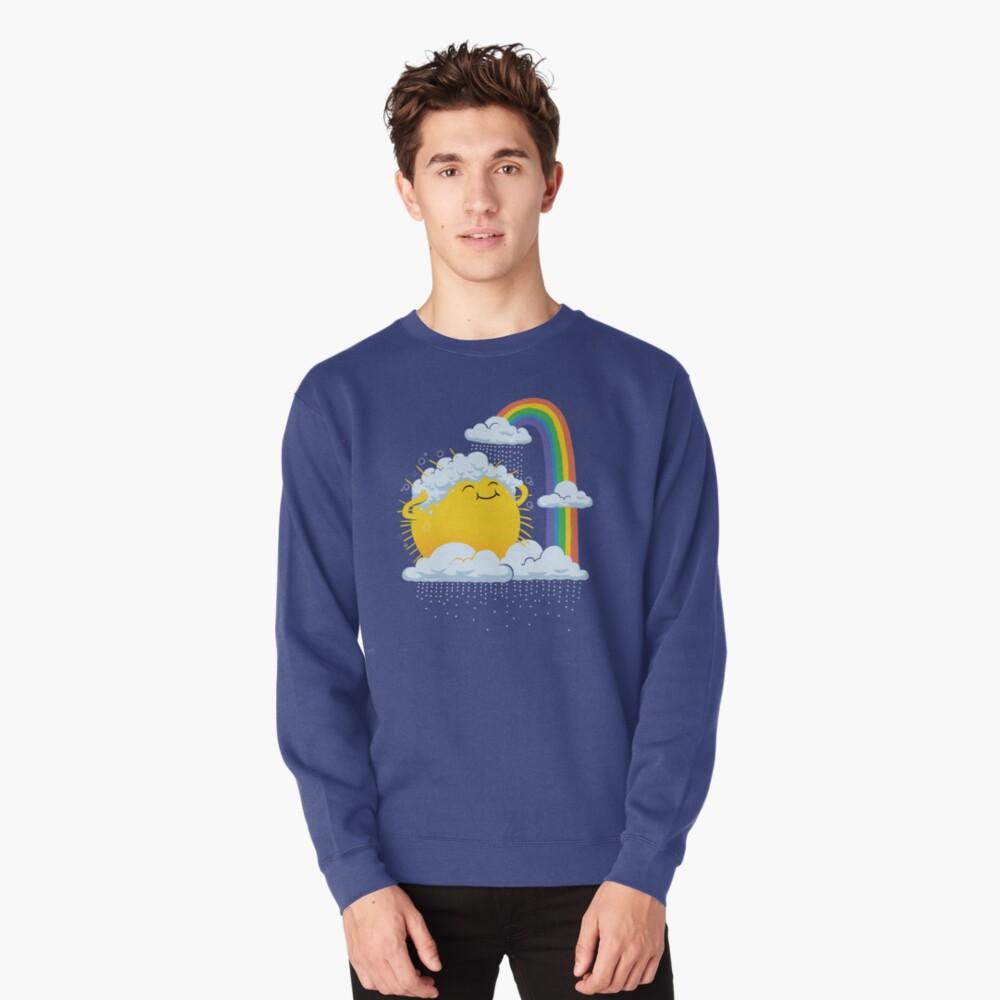 Rainy Day Pullover Sweatshirt
