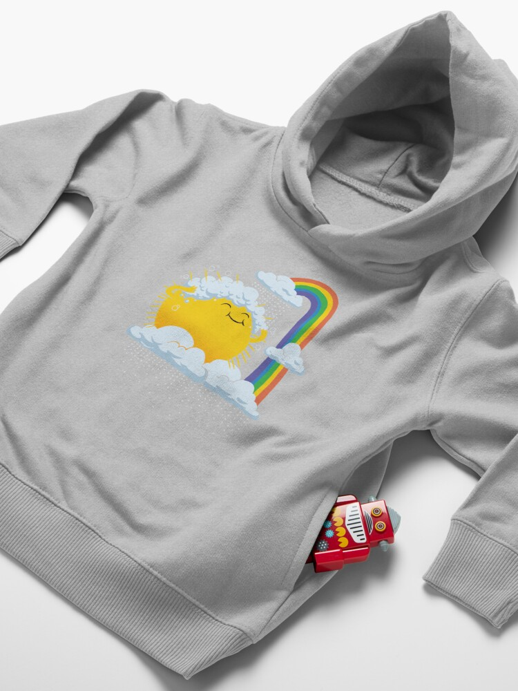 Alternate view of Rainy Day Toddler Pullover Hoodie
