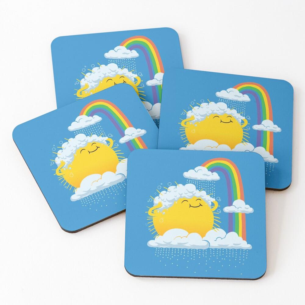 Rainy Day Coasters (Set of 4)