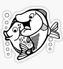 Fish-Fish Sticker