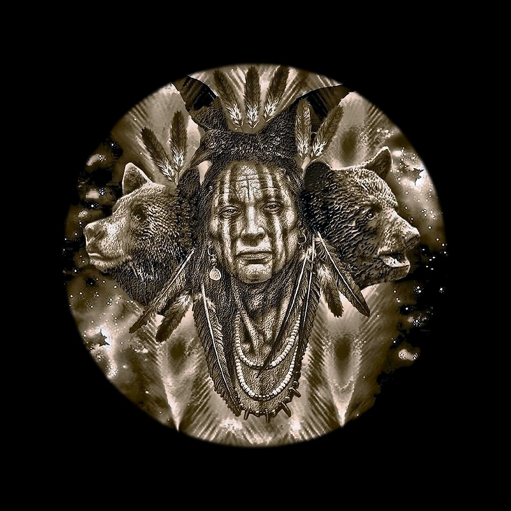 Quot Native American Spirit Of The Bear Quot By Havendesign
