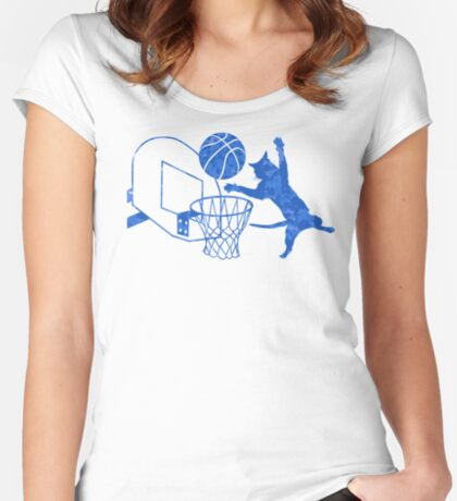 Slam Puss Women's Fitted Scoop T-Shirt