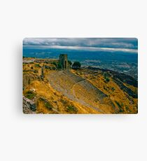 The Nose Bleed Seats Canvas Print