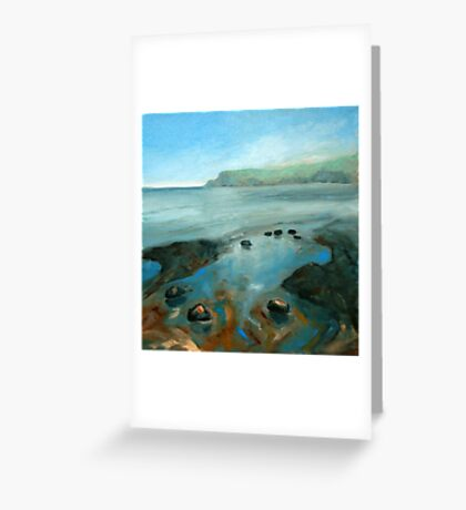 North Yorkshire Coast Greeting Card