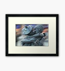The Lovers - Wincher's Stance, Glasgow Framed Print